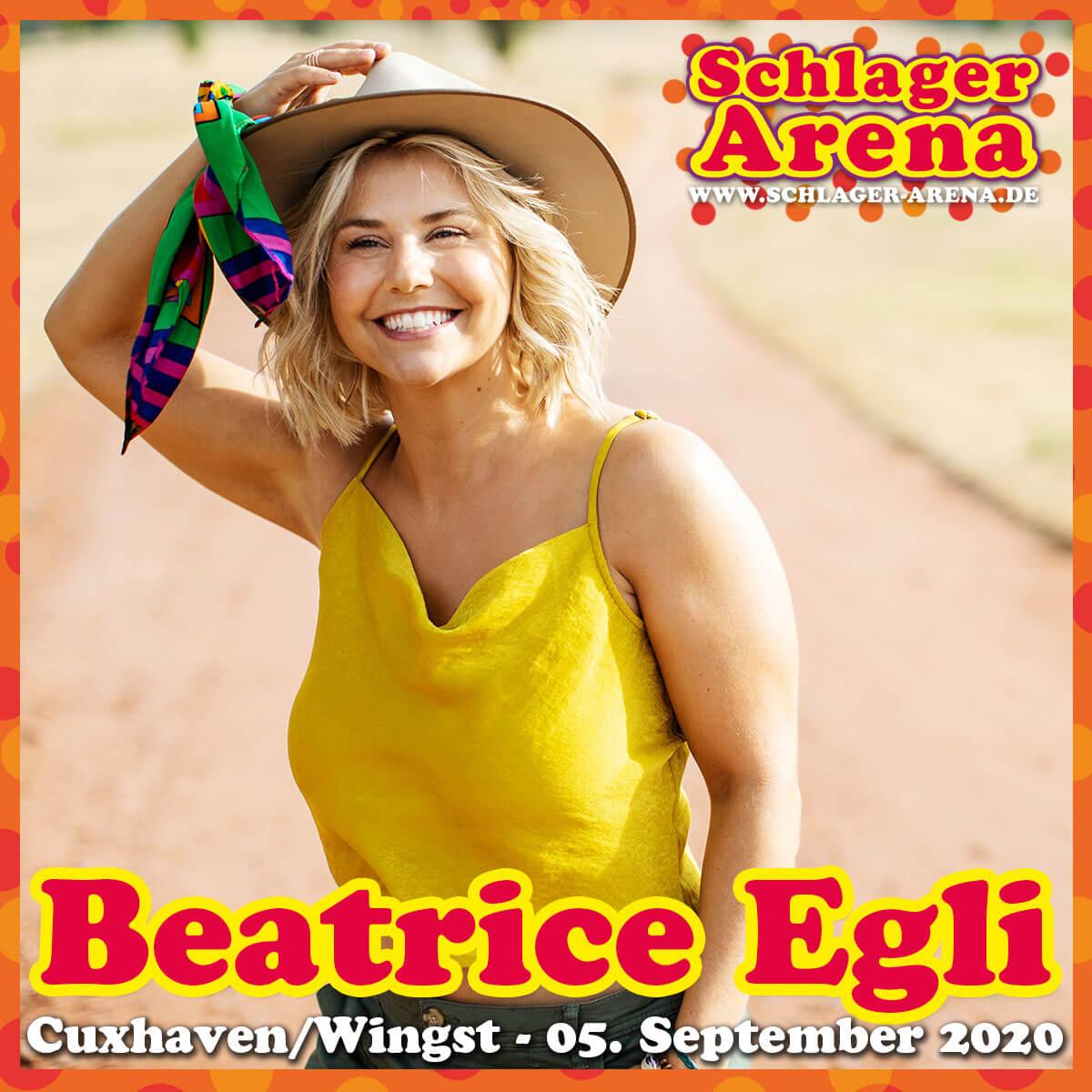 Beatrice Egli bei der Schlager Arena 2020