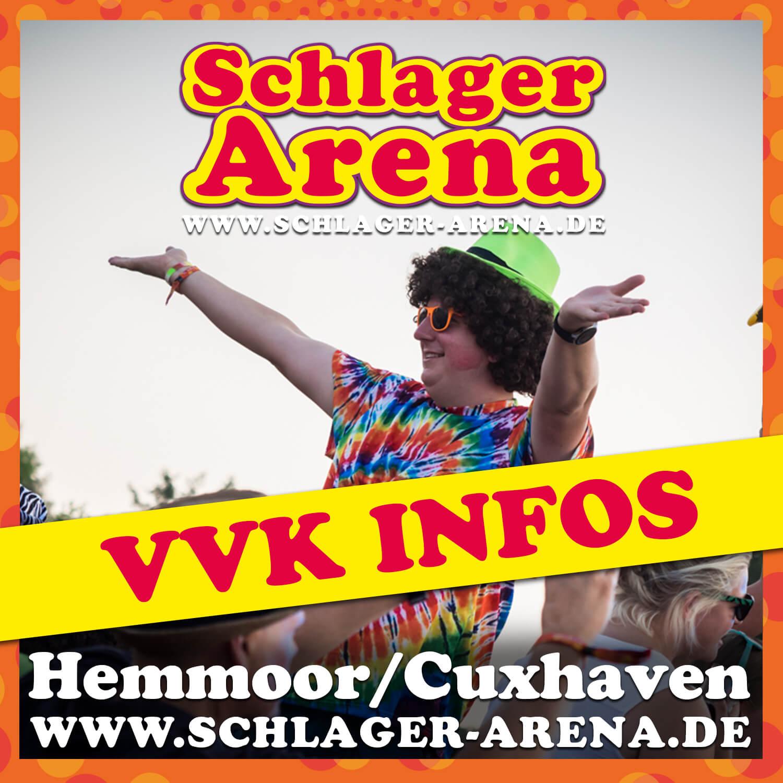 Vorverkaufsinformationen für die Schlager Arena 2021
